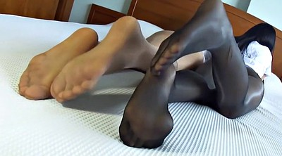 Japanese pantyhose, Japanese foot, Pantyhose foot