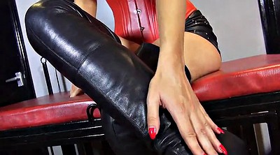 Hot, Search, German femdom, Leather fetish, Leather boots, Femdom boot