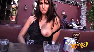 Big pussy, Flash, Hollywood, Bar, Public masturbating, Public masturbation