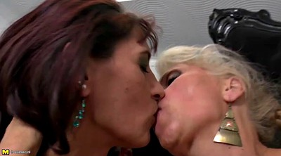 Mature and young lesbian, Old and young lesbians, Young lesbian