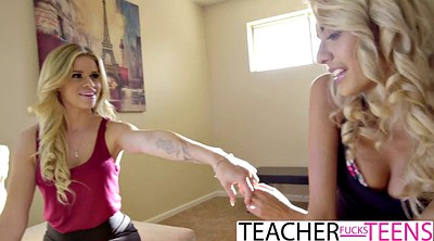 Students, Teacher threesome
