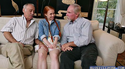 Touch, Old granny, Old people, Touching, Teen strip