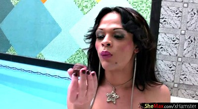 Shemale surprise, Transsexual, Surprise
