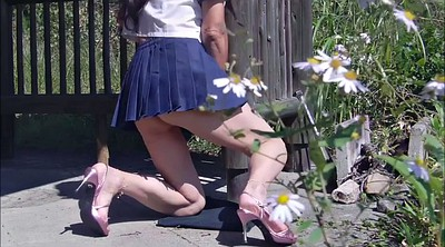 Japanese masturbation, Japanese school, Crossdressing, Japanese outdoor, Japanese crossdress, School japanese
