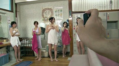 Time stop, Japanese granny, Spa, Japanese old, Japanese young, Sauna