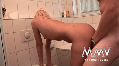 Couple, German hd, Bathroom sex