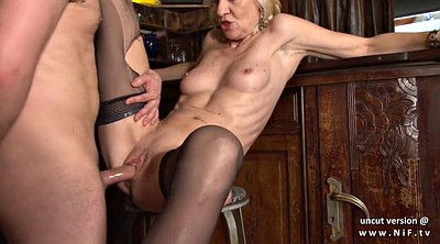 French mature, Cum in mouth, French mature anal