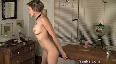 Mature solo, Pussy rub