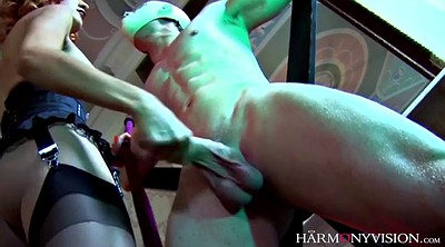 Fuck, Foursome, Group bdsm, Sex slave, Russian redhead, Mistress handjob