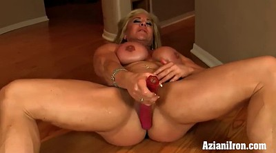 Strong, Muscle girl, Big clits, Mature clit, Girl muscle