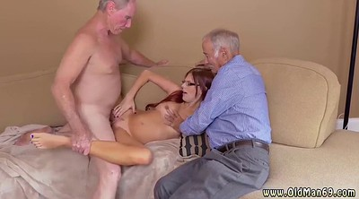Amateur cuckold, Old man threesome