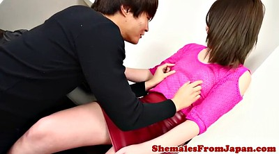 Japanese shemale, Japanese anal, Japanese blowjob