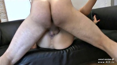 Cum in mouth, Anal casting