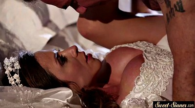 Beauty, Big cumshot, Wedding
