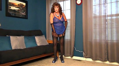Heels, Gloves, Pantyhose milf