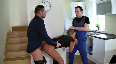 Double anal, Milf double anal, Licking anal