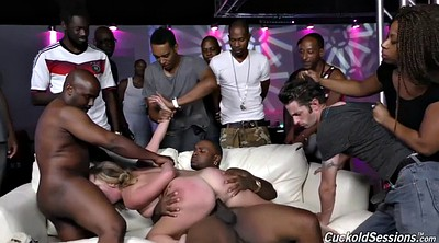 Party, Wife gangbang, Sex party, Interracial party