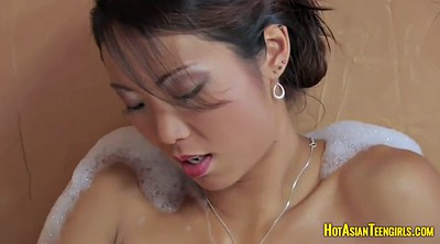 Solo orgasm, Teen asian, Asian dildo