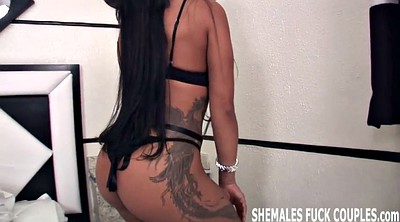 First time fuck, Shemales, Shemale threesome, Bisexual