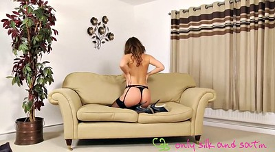 Striptease, Stockings solo, Stacey, Solo stockings, Solo stocking