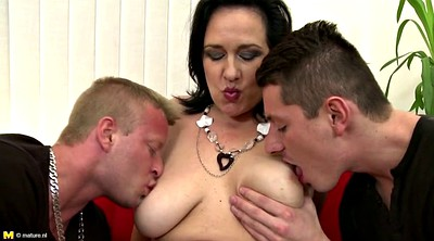 Mother, Mother son, Bigtits, Mother seduces