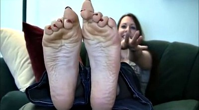 Footing, Sole, Milf foot, Creamy, Samantha