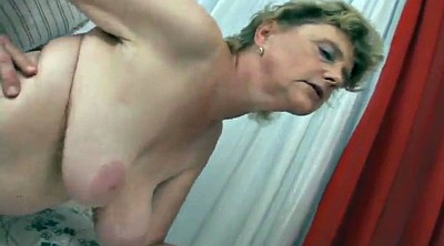 Big granny, Big cock mature