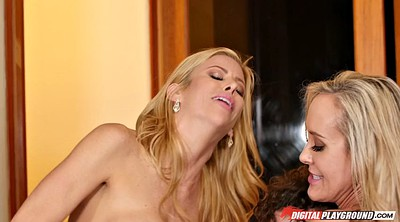 Brandi love, Alexis fawx, Milf threesome, Brandi love office, Alexis, Mom hard