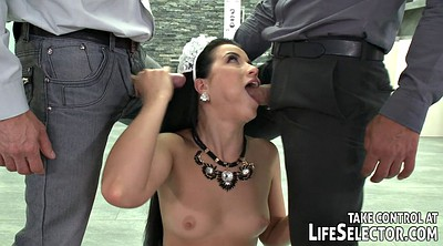 Two man, Young blowjob