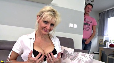 Saggy, Saggy tits, Mature mom