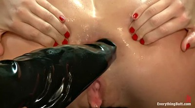 Fisting, Latex, Fist, Lesbian feet, Fisted, Roxy raye