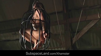 Stand, Punishment, Spank punish, Cage, Slaves, Punished