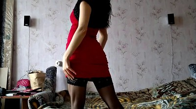 Stockings, Russian girl