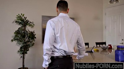 Step dad, Step, Nubiles, Nubile, Kristen scott