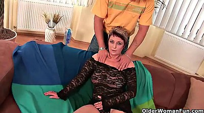 Mature, Wife, Old granny