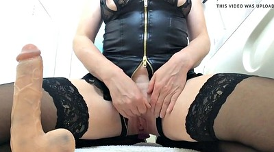 British, Dildo riding, Riding dildo, Pussy juice