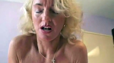 Hairy mature, Hairy blonde