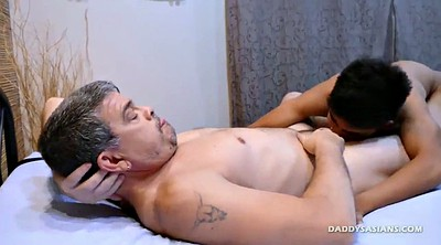 Kiss, Old gay, Boys, Asian bondage, Daddy gay, Dad gay
