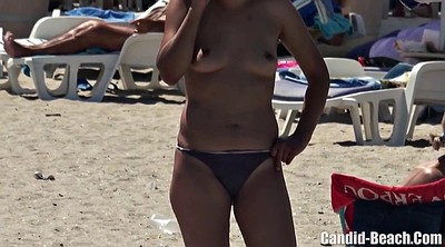 Beach, Teen bikini, Latina boobs, Beach voyeur, Teen boobs, Beach topless