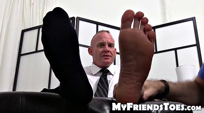 Student, Foot worship, Boss, Feet fetish, Dev