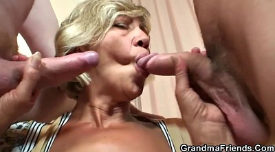 Wife threesome, Old granny, Granny mature