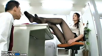 Nylon feet, Japanese massage, Japanese foot, Japanese pantyhose, Japanese handjob, Pantyhose feet