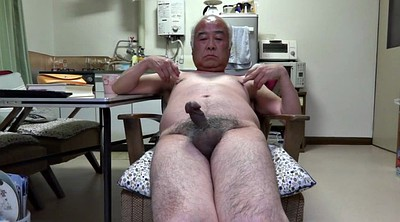 Old man, Asian granny, Touch, Penis, Japanese granny, Granny masturbation