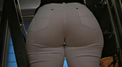 White big ass, Jeans