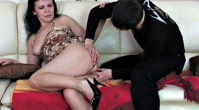 Young, Granny anal