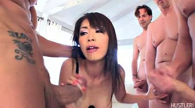 Asian gangbang, Japanese gangbang, Marica hase, Japanese deep throat, Asian deep throat, Japanese deep