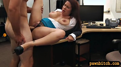 Money, Busty milf, Pawn