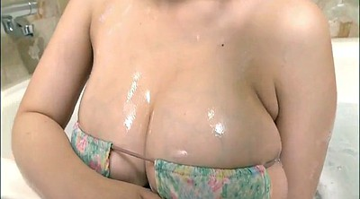 Japanese big tits, Take a shower, Busty japanese