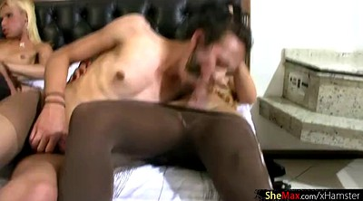 Black gangbang, Stocking gangbang, Black stockings