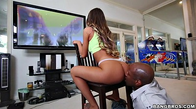 Game, August ames, Panty teasing, Hanging, August